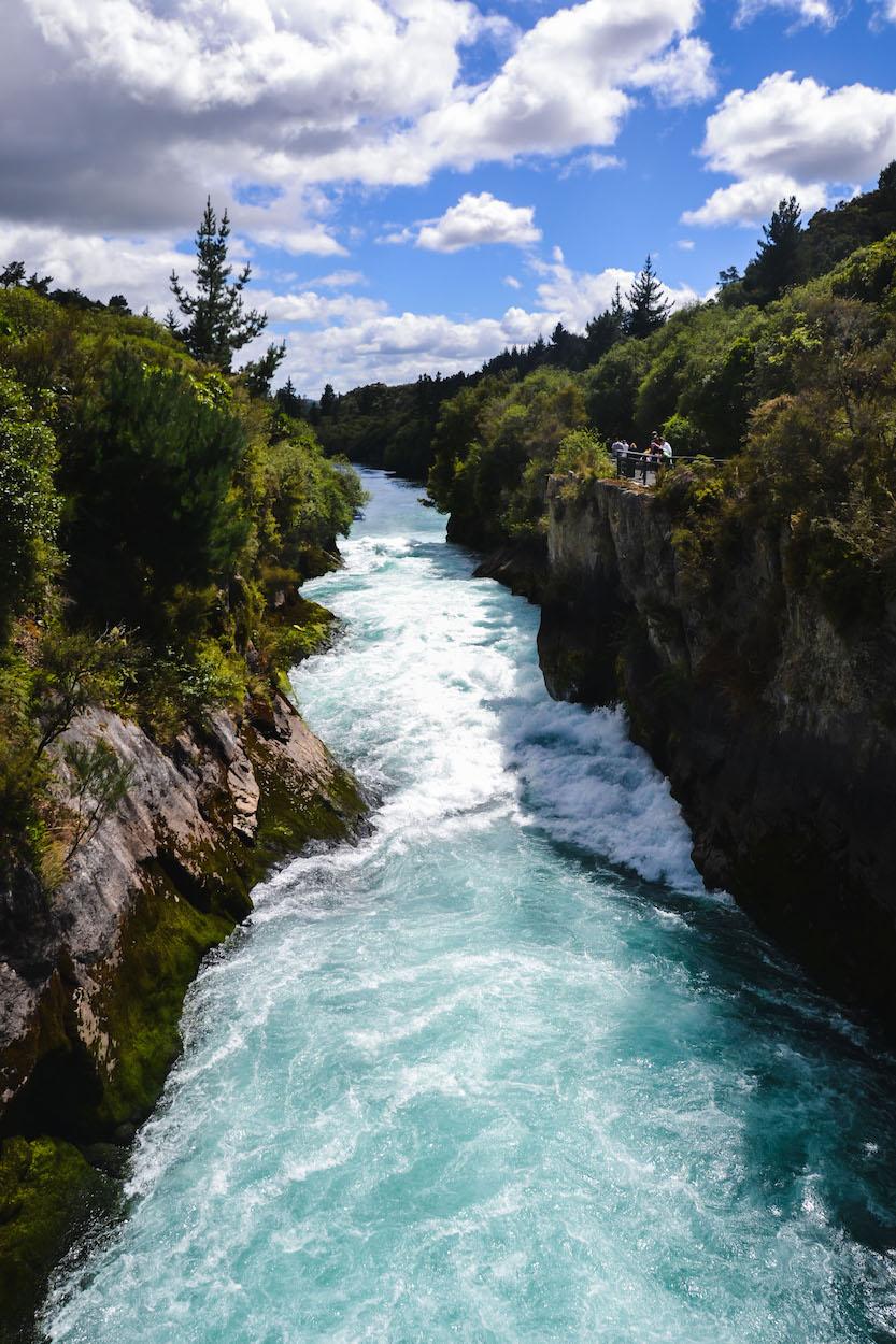 Ohakune-Fluss
