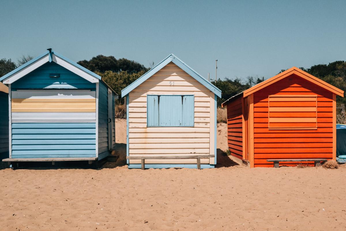 Strandhütten-Melbourne