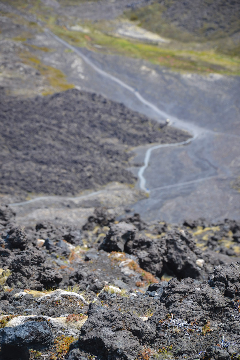 Tongariro-Alpine-Crossing-Weg
