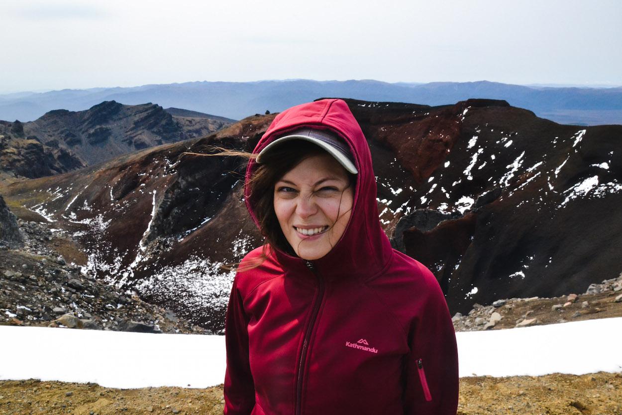 Tongariro-roter-Vulkan