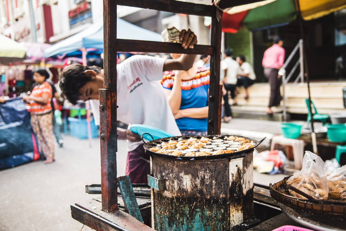 Essen in Myanmar