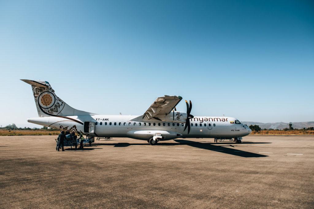 Fliegen Myanmar Sicherheit