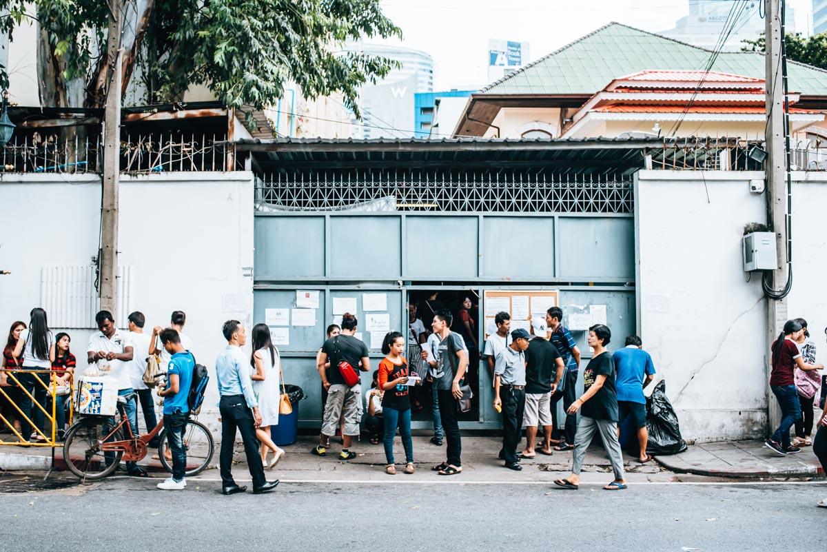 Myanmar Visum Bangkok
