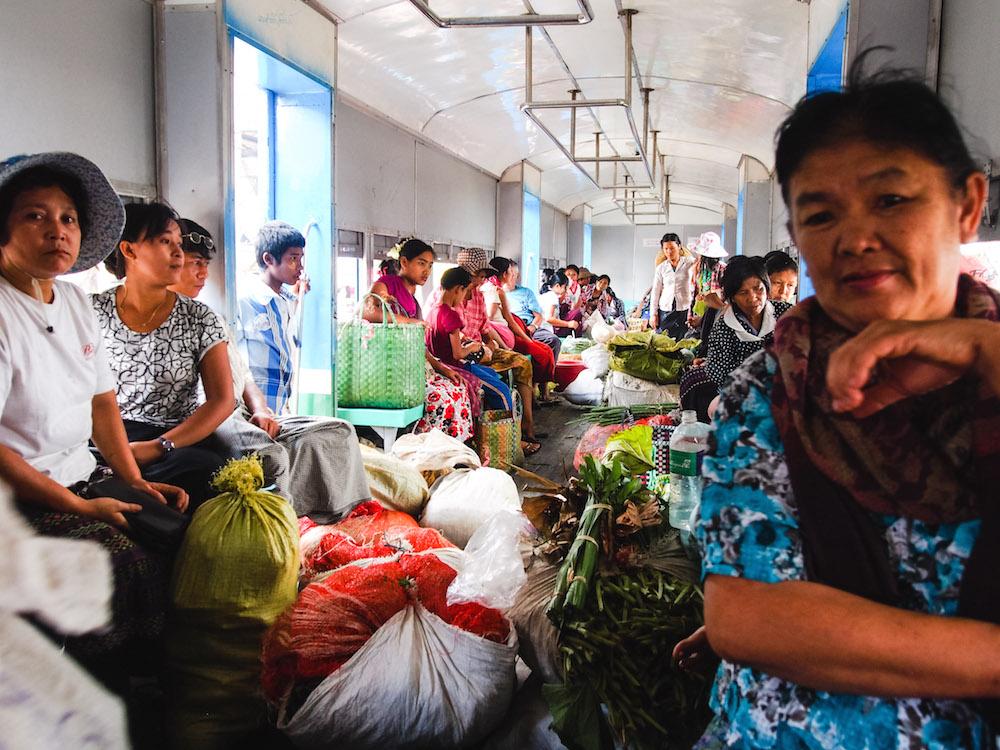 Kreislinie in Yangon