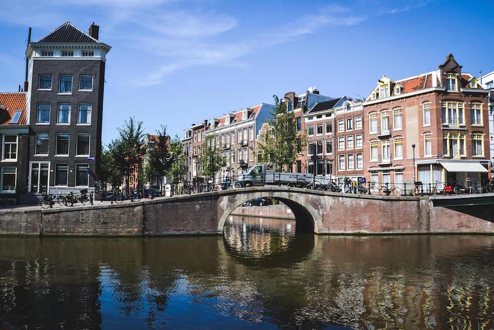 Brücken-in-Amsterdamm