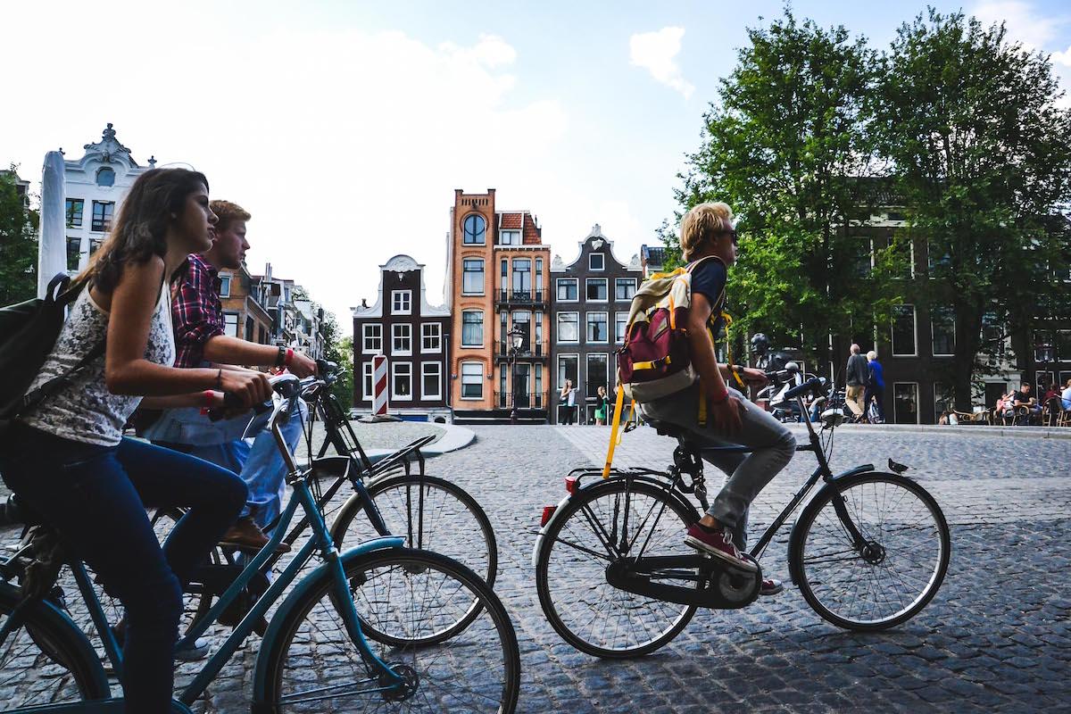 Fahrräder-in-Amsterdamm