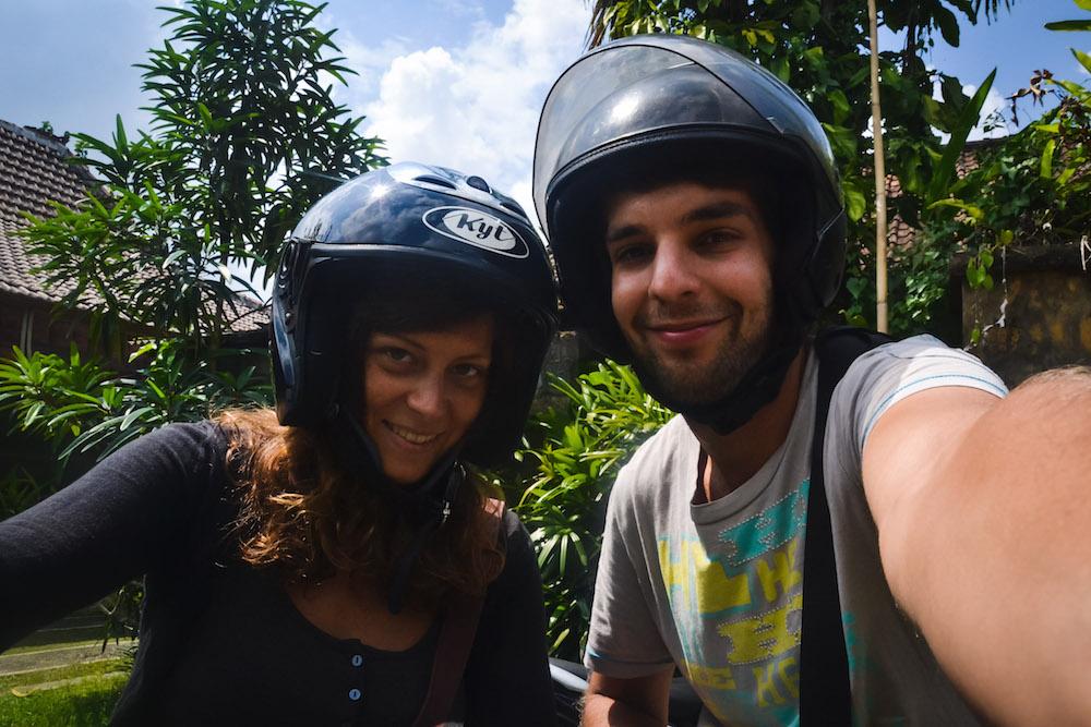 Motorrad Tagesausflug Bali