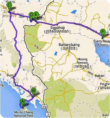 itinerary Cambodia 2