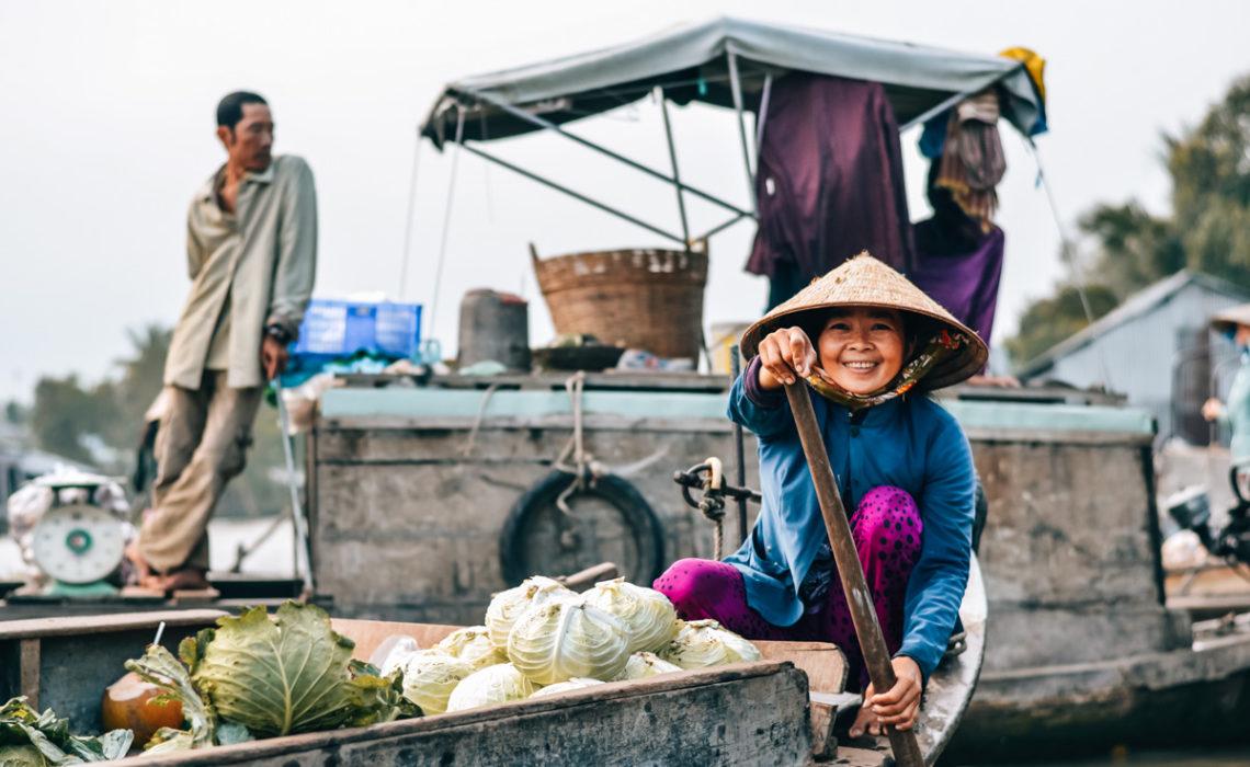 Tipps schwimmende Märkte Vietnam