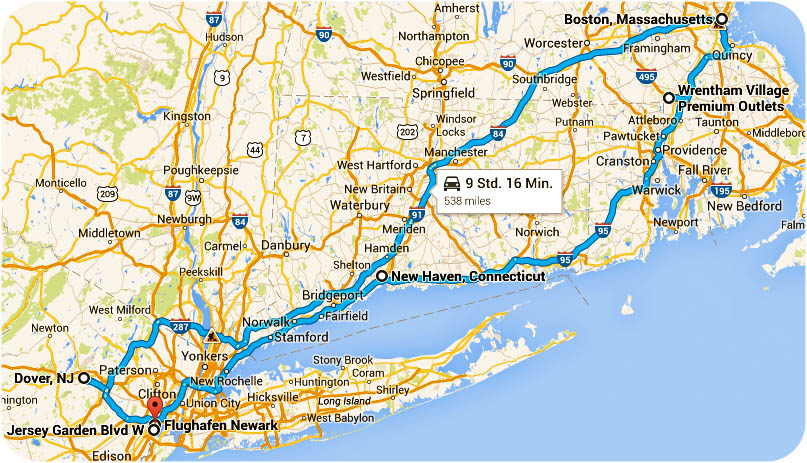 itinerary-New-York-Boston