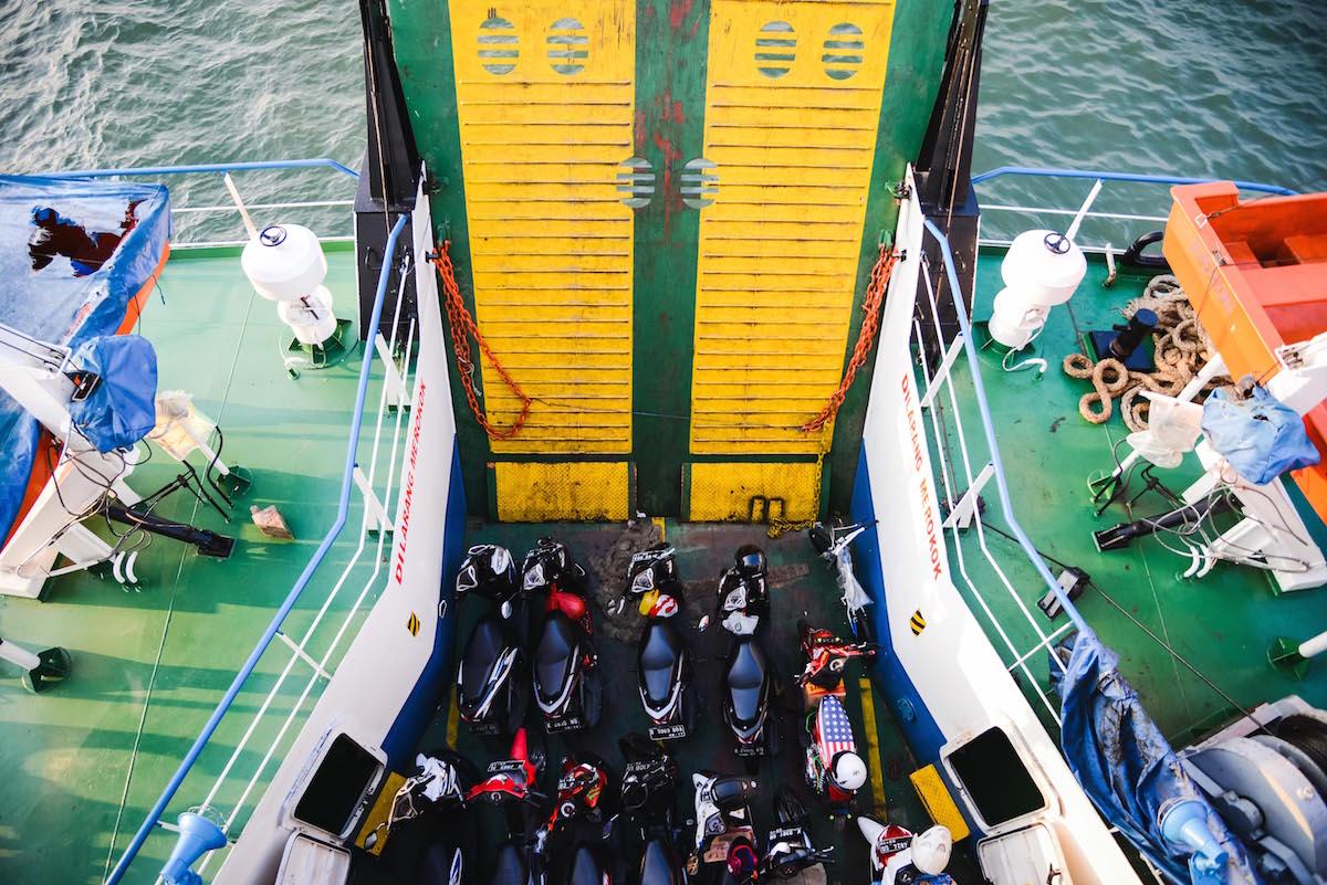 Autofähren Indonesien Tipps