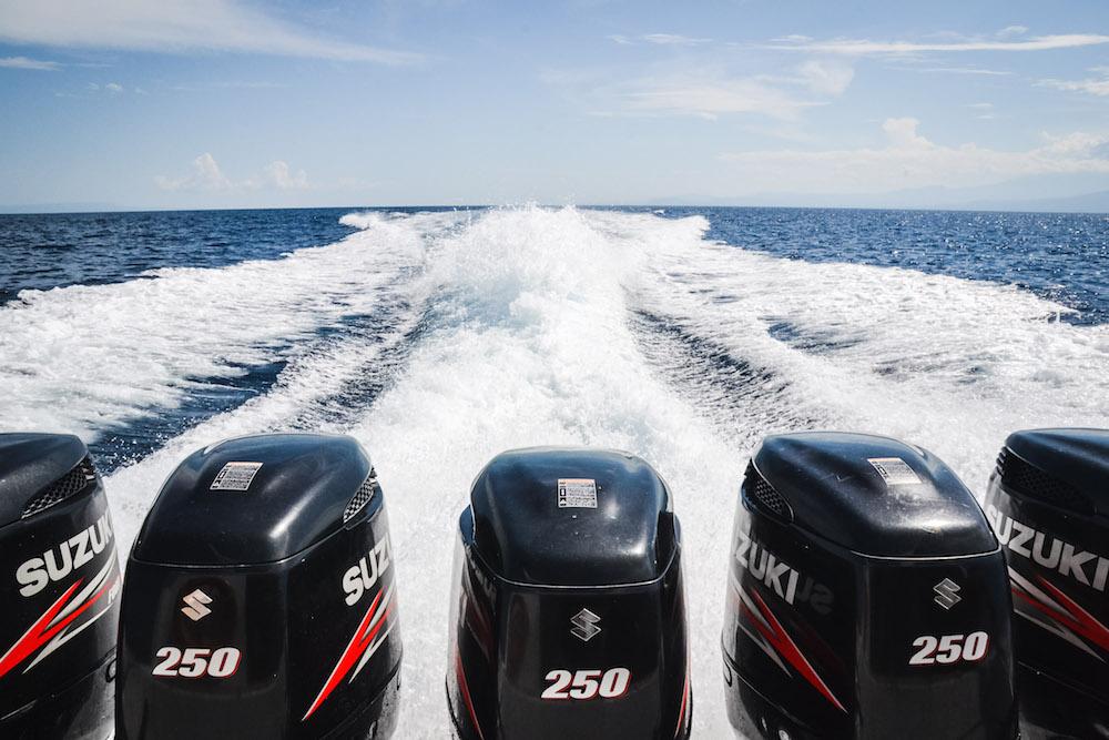Speedboat Indonesien gefährlich