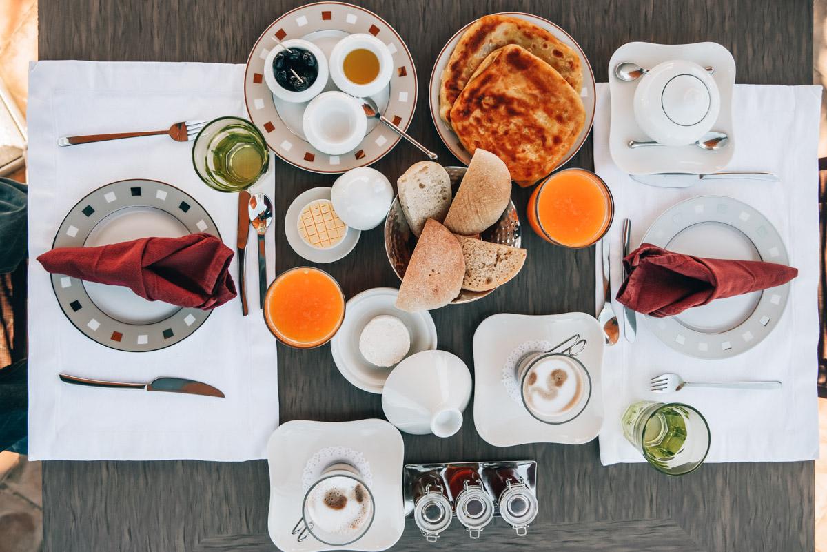 Karawan Riad Frühstück
