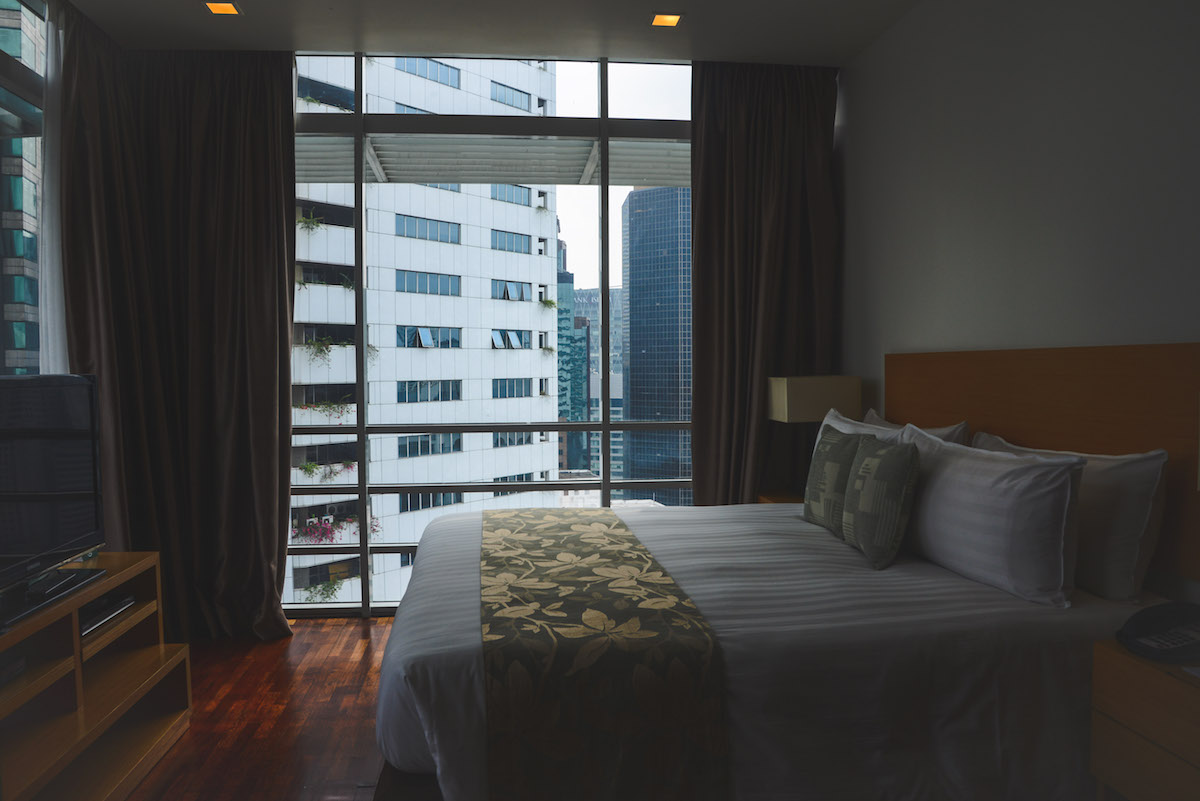 Parkroyal-Serviced-Suites-Kuala-Lumpur-Schlafzimmer
