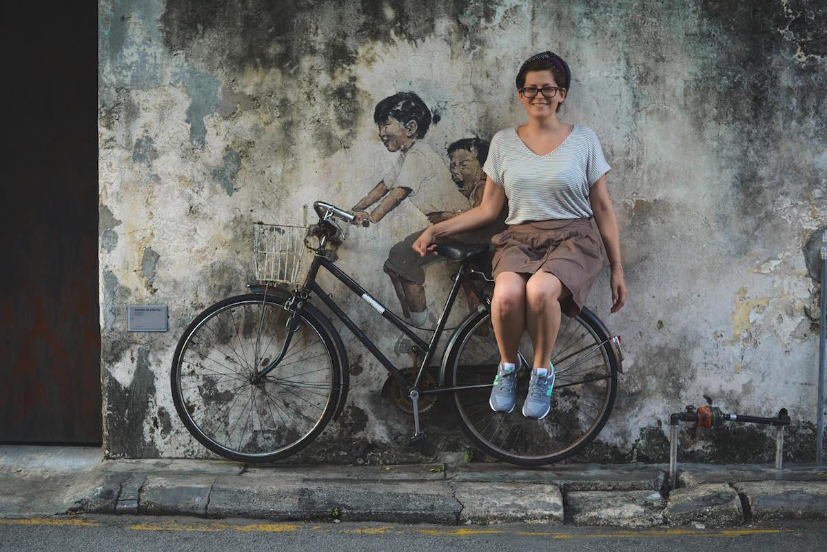penang-streetart-fahrrad