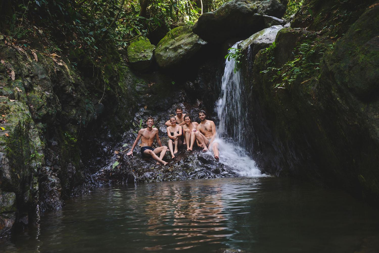 Bukit-Lawang-Wasserfall