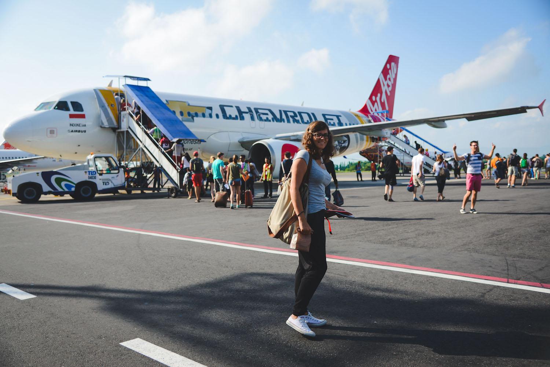 Medan-Flughafen-Air-Asia
