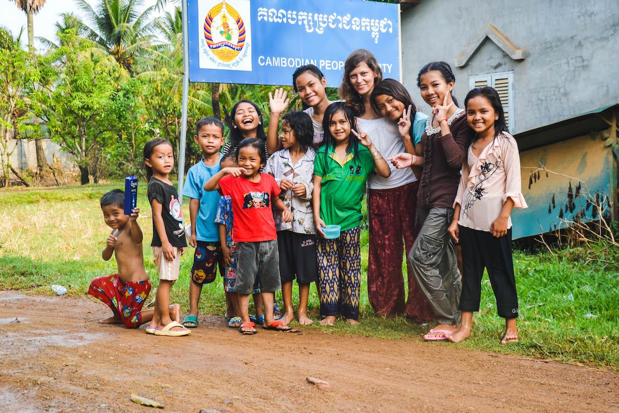 Kampot-Kinder-Kambodscha