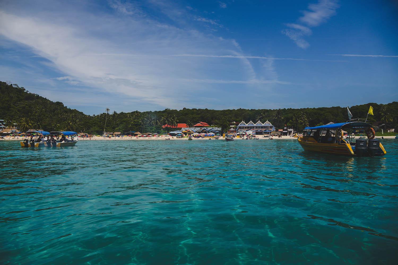 Perhentian-Inseln-blaues-Wasser