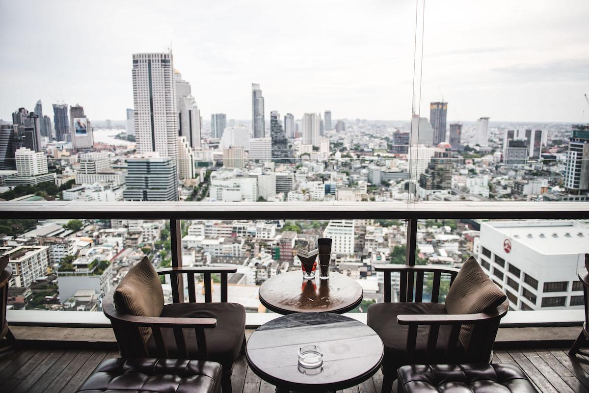 Skybars Bangkok bester Ausblick