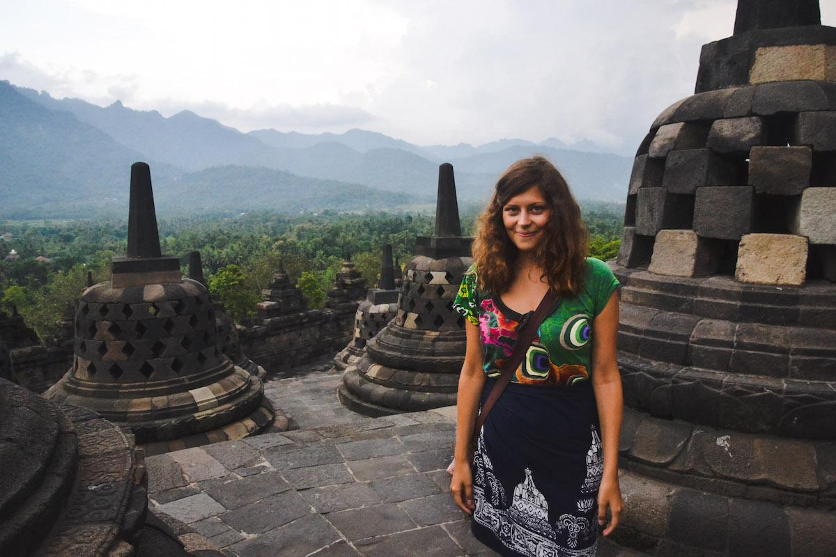 Borobudur-Ausblick