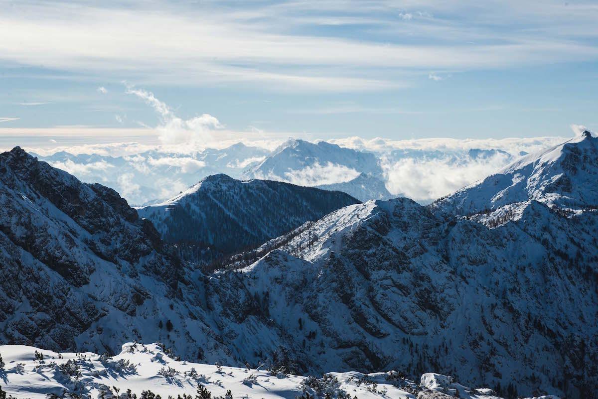 Hinterstoder-Bergkette