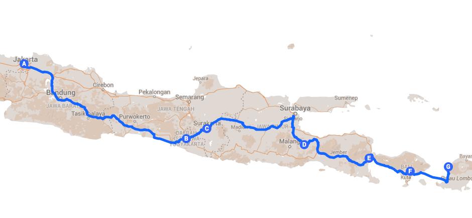 Itinerary Indonesia 3 Weeks