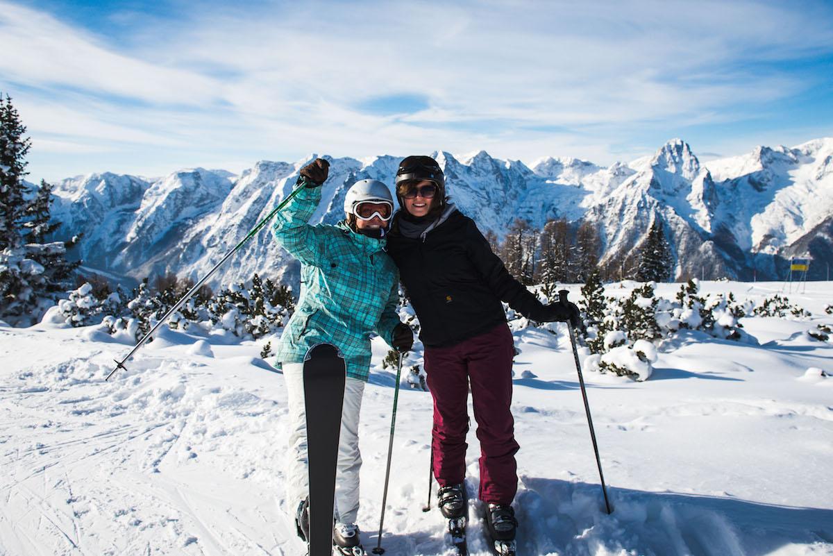 Skifahren-in-Hinterstoder