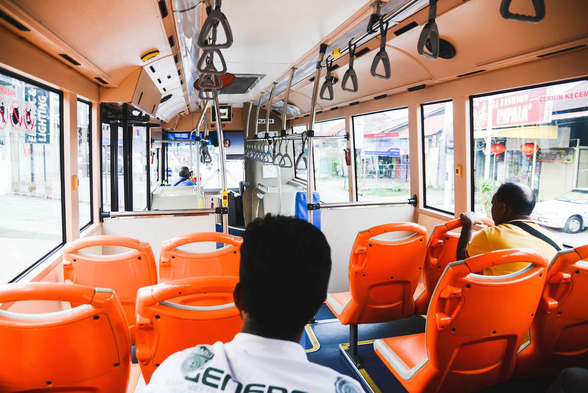 Busfahren-Malaysia