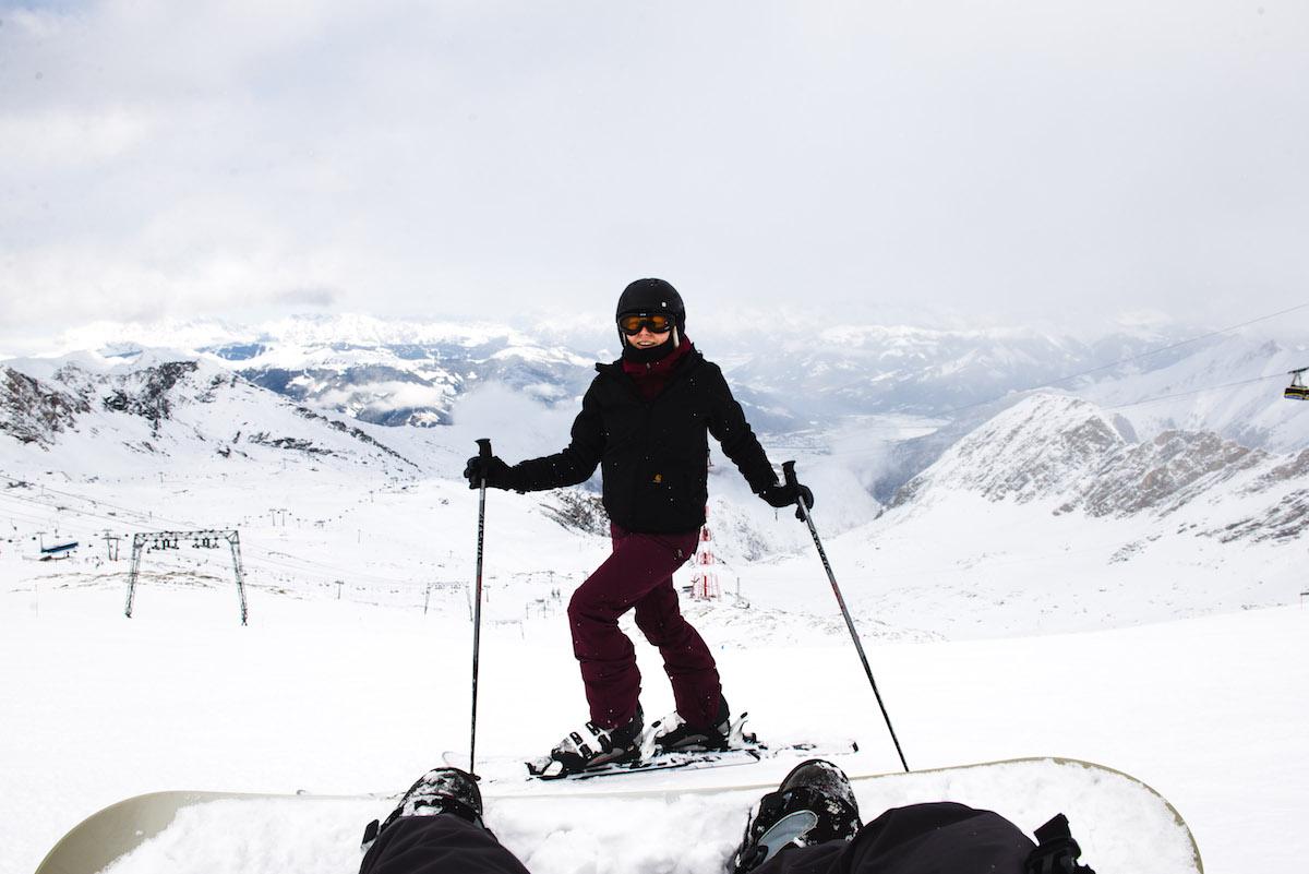 Kitzsteinhorn-Snowboard