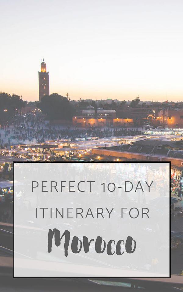 itinerary-morocco