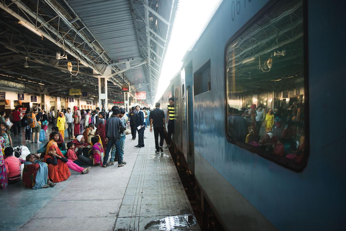 Bahnhof-Agra