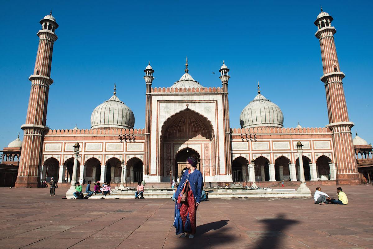 Delhi-mosque