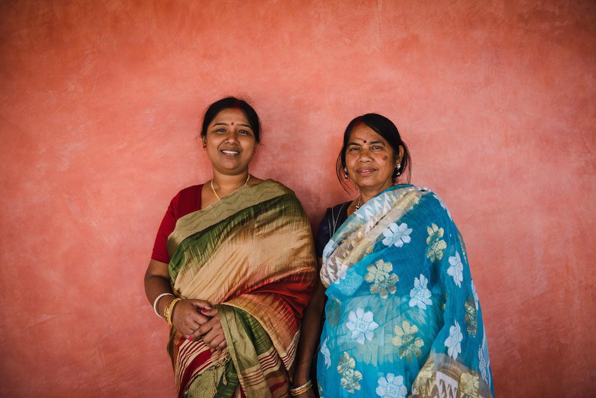 Indische-Frauen-Fotografieren