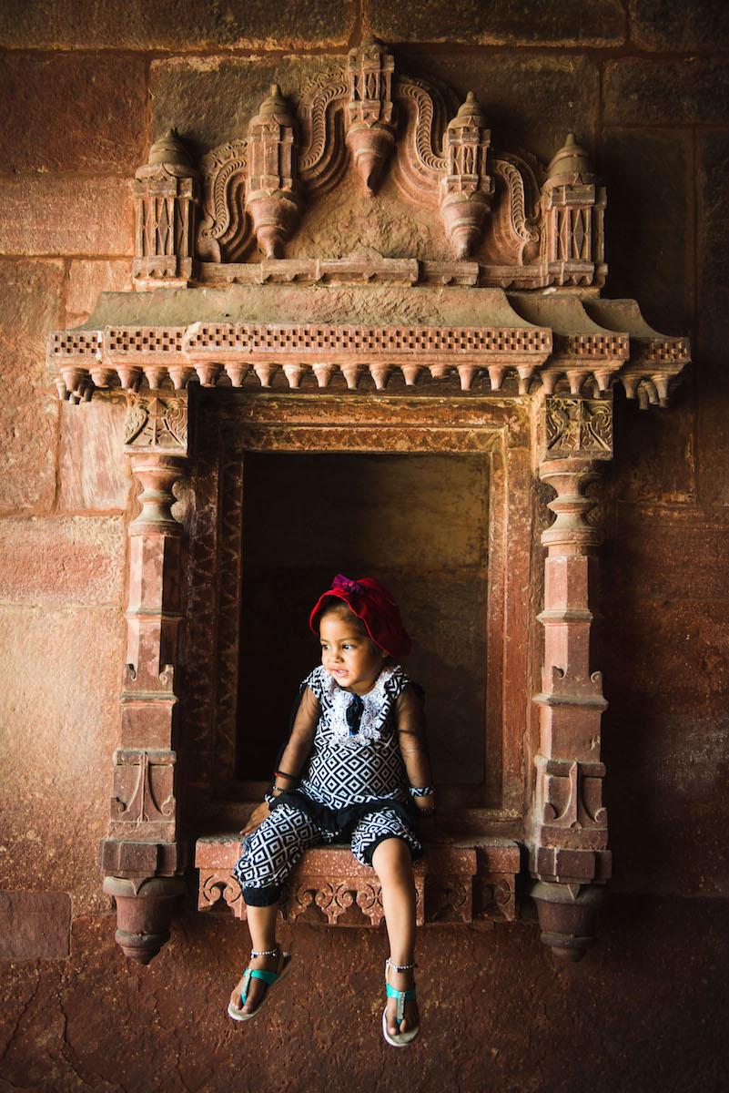 Kinder-in-Indien