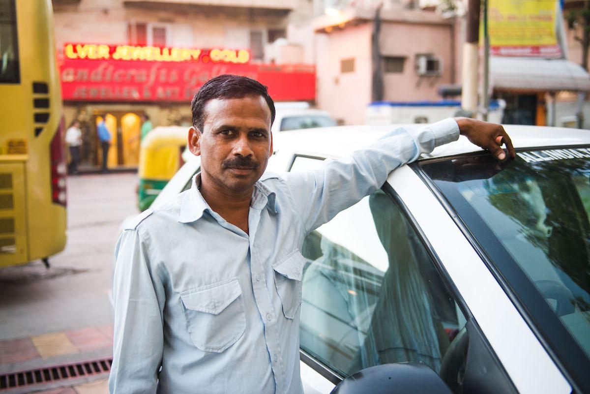 Taxifahrer-Agra