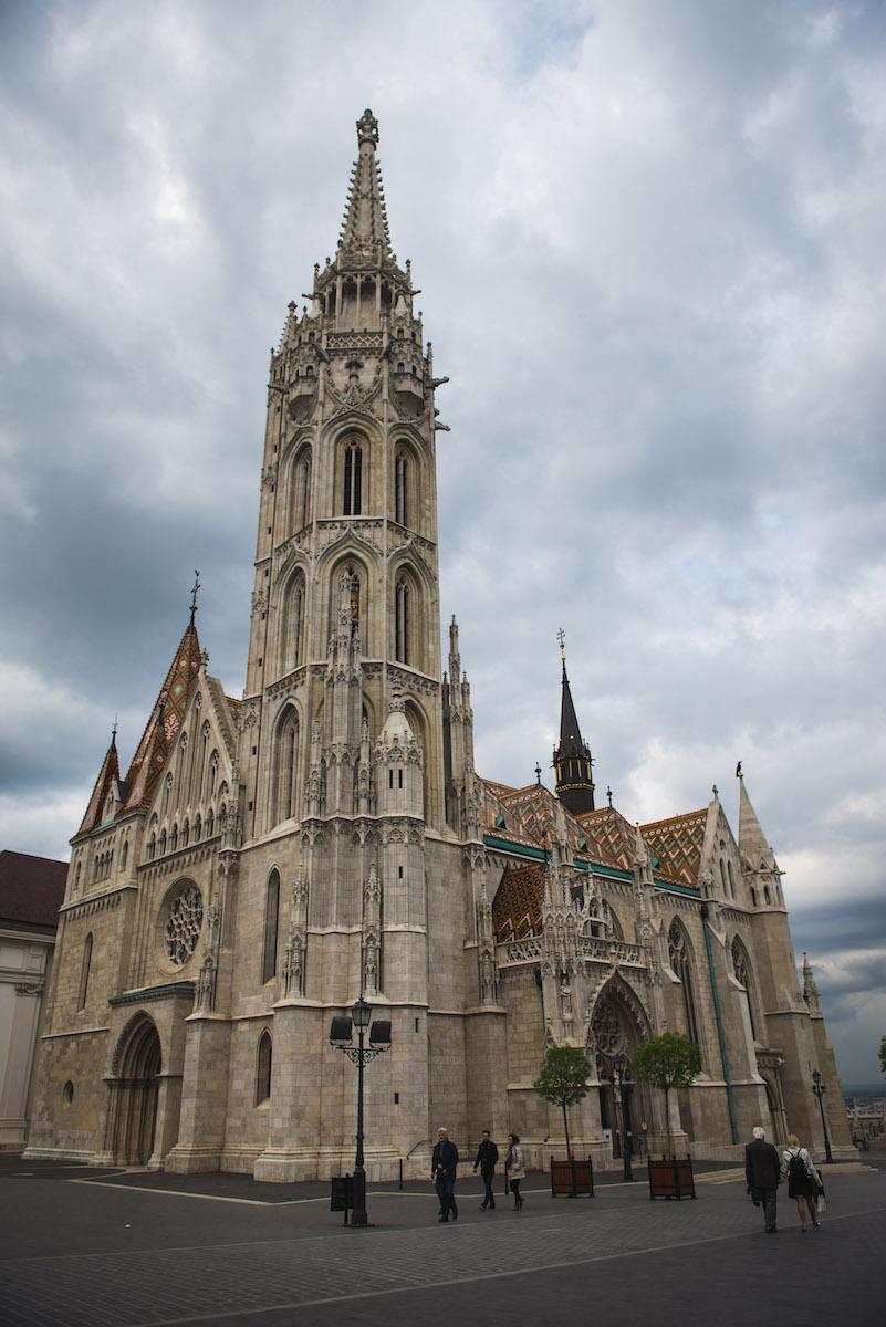 Budapest Kirche Fischerbastei