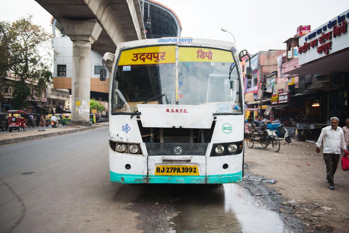 Jaipur-öffentlicher-Bus
