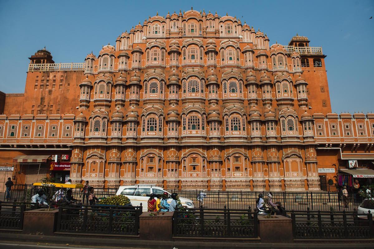 Jaipur-Palast-der-Winde