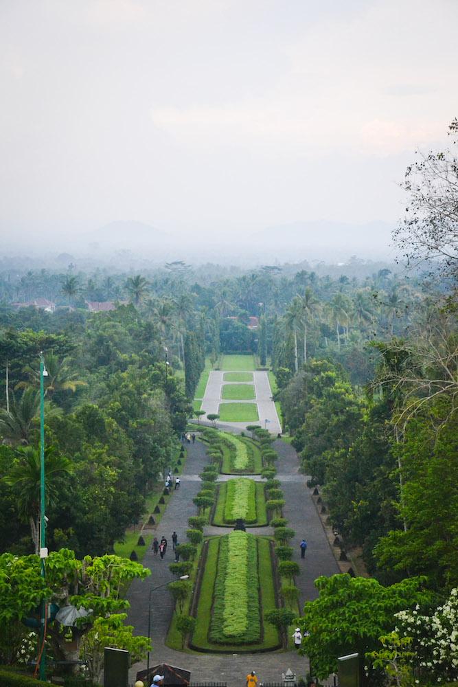 Ausblick-Borobudur