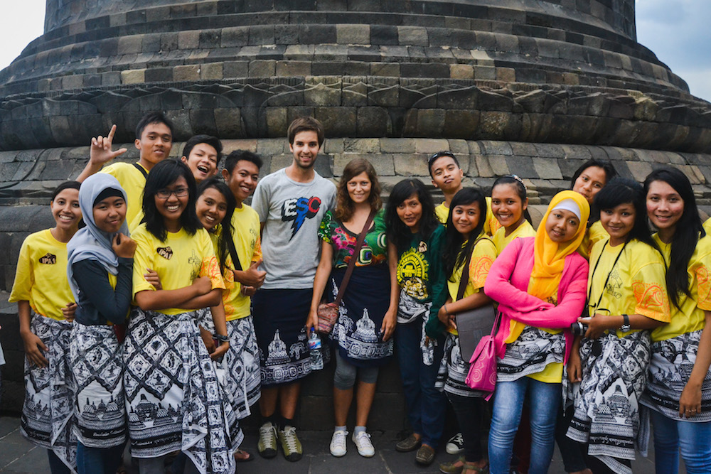 Borobudur-Schulklassen