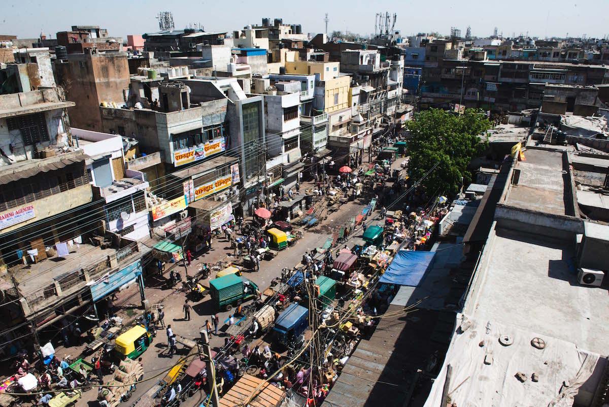 Delhi-Straßenansicht