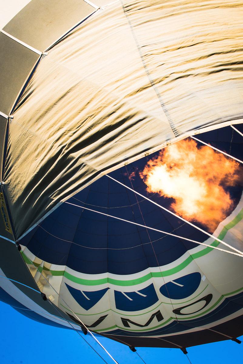 Heißluftballon Feuer