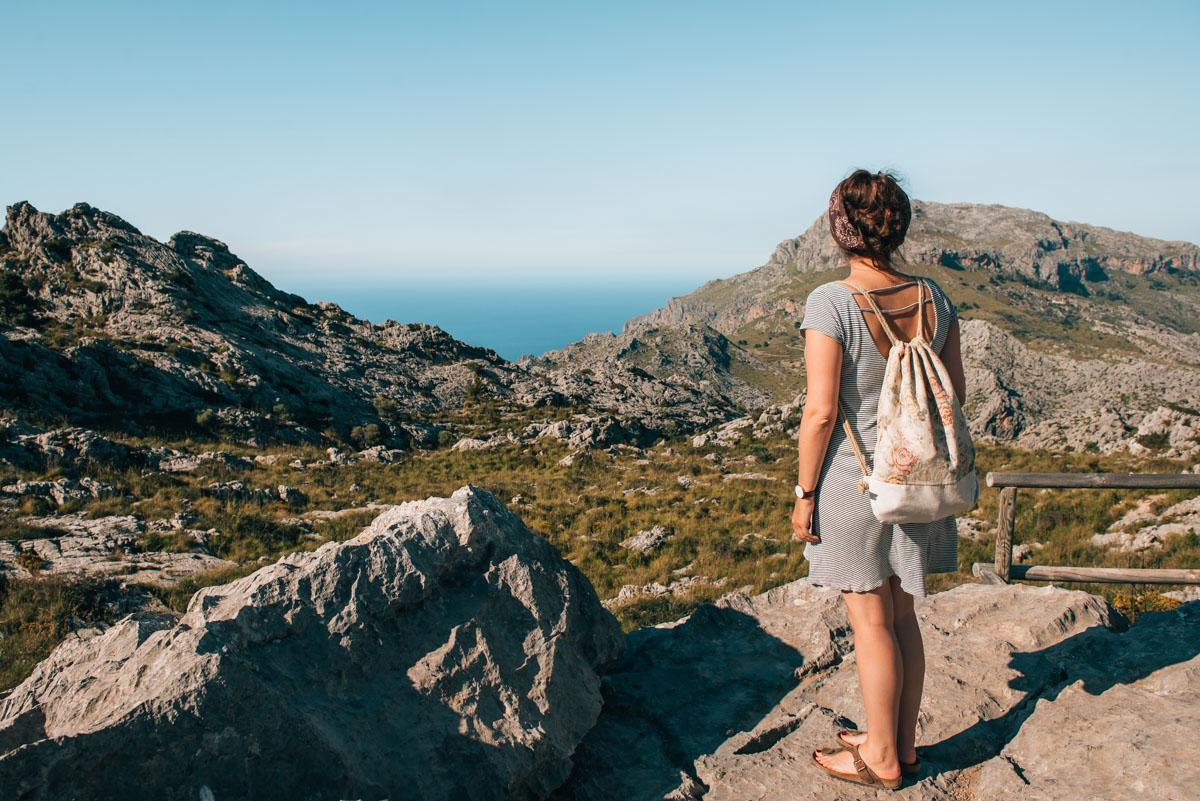 Mallorca Berge Aussichtspunkt