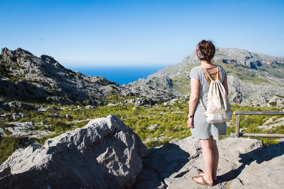 Mallorca-Berge-Aussichtspunkt