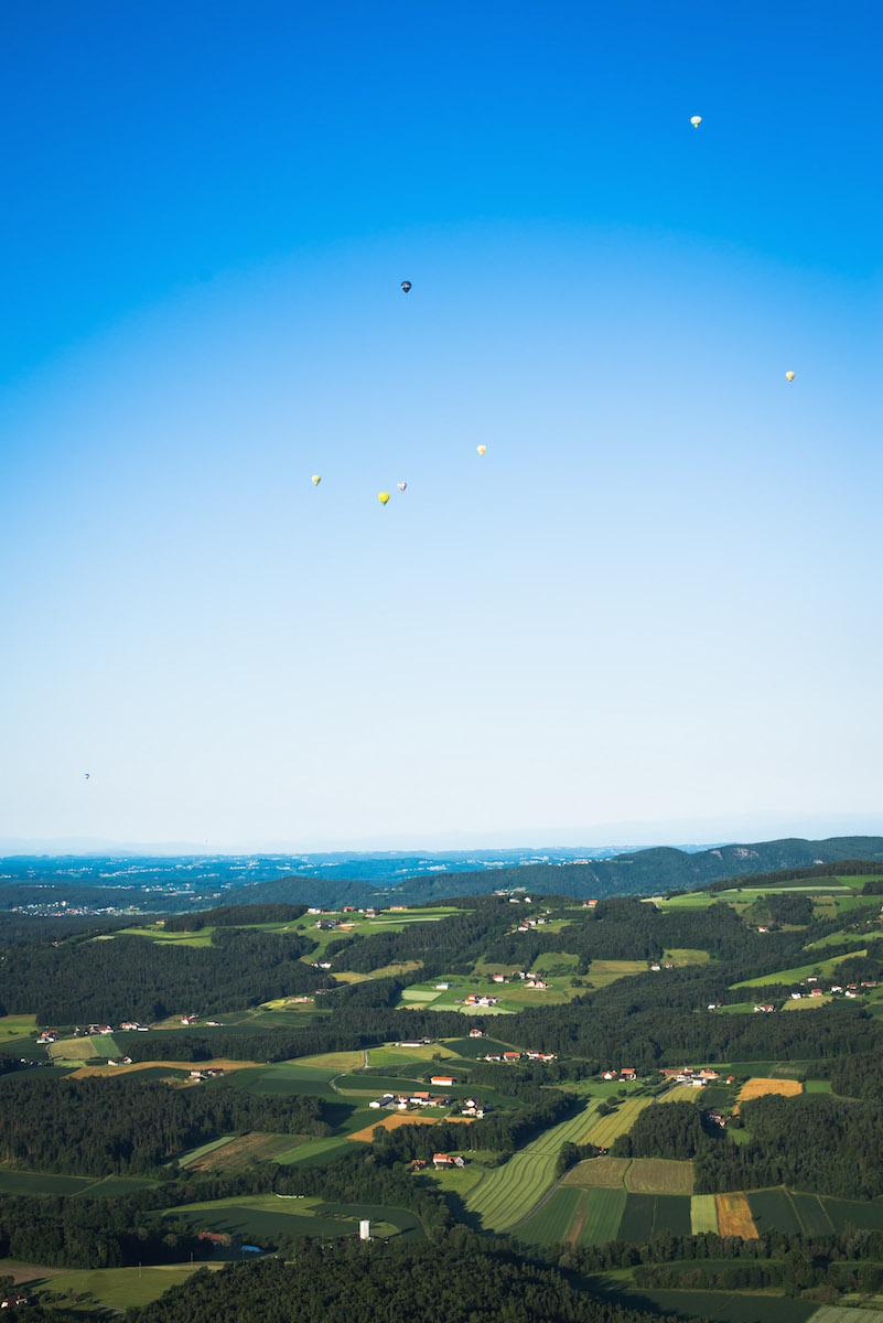 Oststeiermark Heißluftballon
