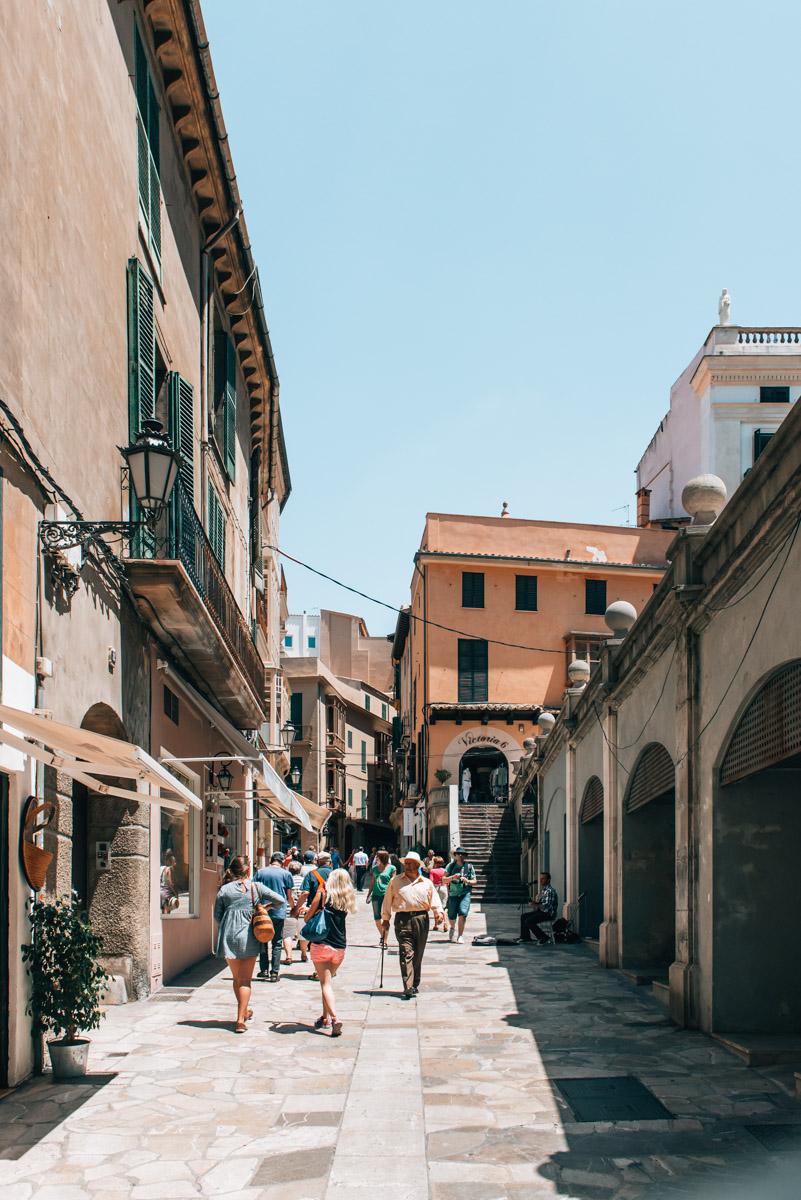 Palma de Mallorca Gasse