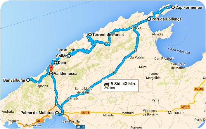 Route Mallorca