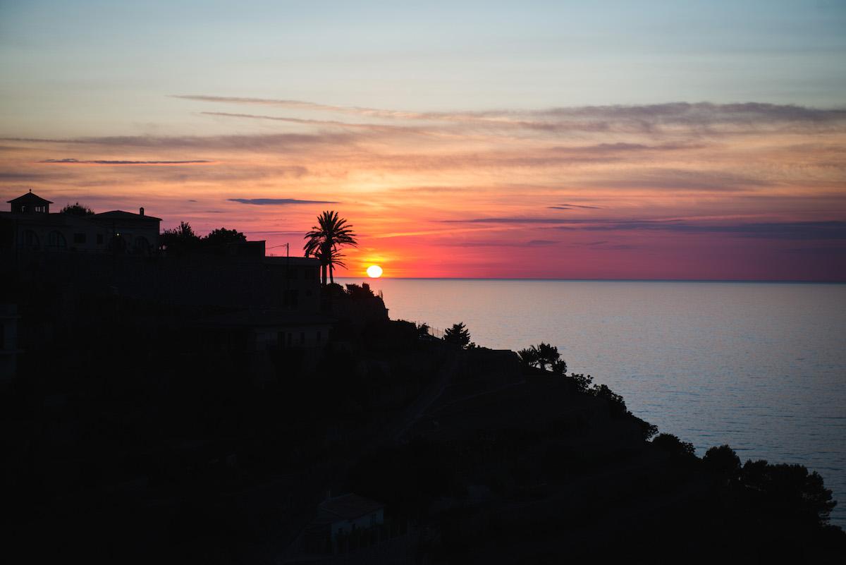 Sonnenuntergang-Mallorca