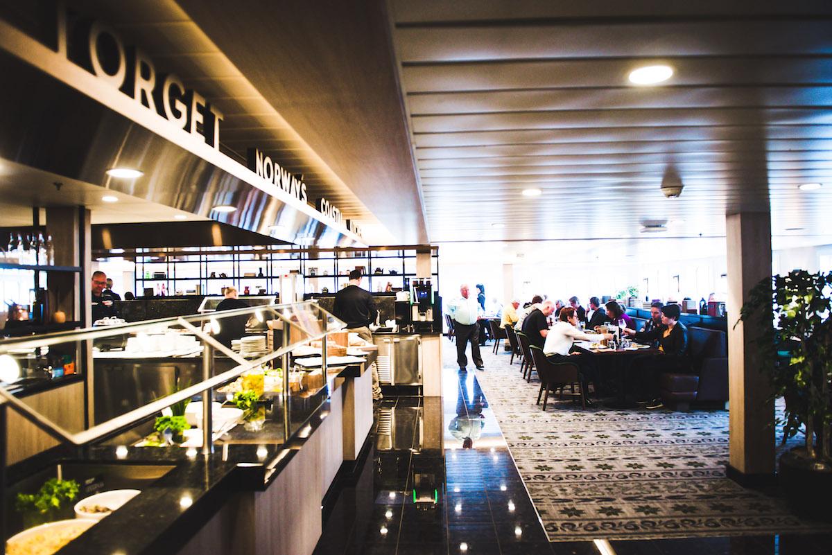 MS-Spitzbergen-Restaurant